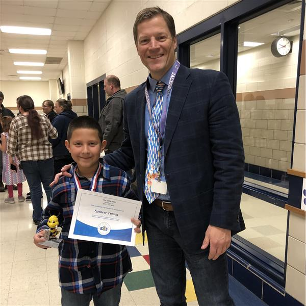 JES Students Participate in Local Spelling Bee