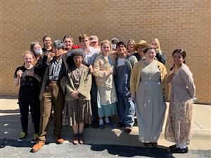 JHS OAP Competes at District OAP