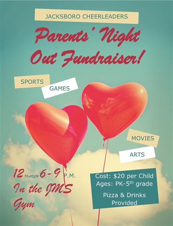 Parent's Night Out Fundraiser