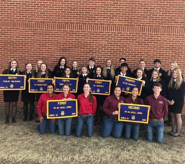 FFA Qualifies for State LDE Contest